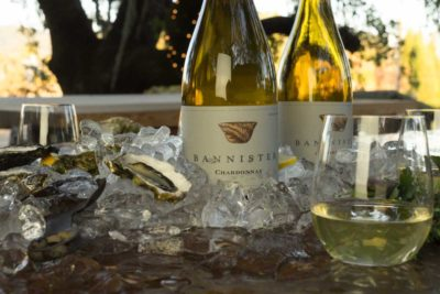 2014 chardonnay with oysters